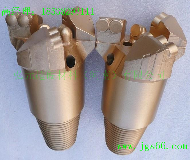 ф75三翼复合片钻头